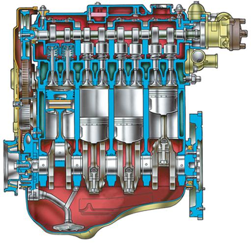 Двигатель ВАЗ 2110, ВАЗ 2111,
